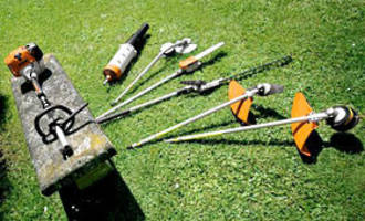 Stihl Weedeater c/w Attachments