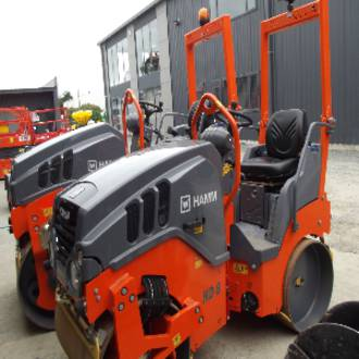 1.5T HAMM DOUBLE DRUM ROLLER
