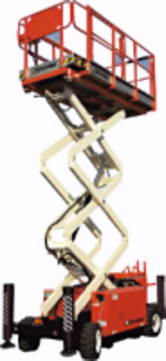 8m Rough Terrain Scissor Lift