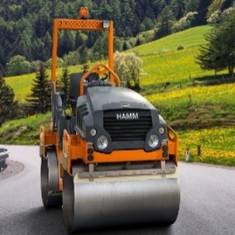 2.5T Hamm Double Drum Roller