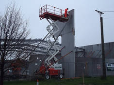 10m Rough Terrain Scissor Lift