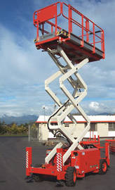 Snorkle 2255 Rough Terrain Diesel Scissor Lift