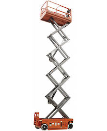 14m Electric Slab Scissor Lift